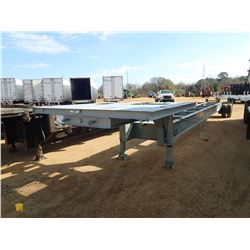 1985 VENTURE RIDER STEP DECK TRAILER, VIN/SN:16004 - S/A, 45' LENGTH (FRAME ONLY) BILL OF SALE ONLY