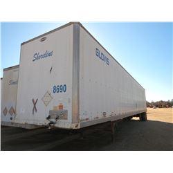 2007 STRICK VAN TRAILER, VIN/SN:1S12E95357E517545 - T/A, 53' LENGTH, BARN DOOR