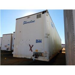 2006 STRICK VAN TRAILER, VIN/SN:1S12E95366E511459 - T/A, 53' LENGTH, BARN DOOR