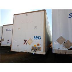2007 STRICK VAN TRAILER, VIN/SN:1S12E95307E517548 - T/A, 53' LENGTH, BARN DOOR
