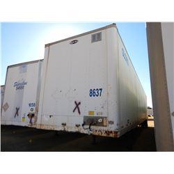 2006 STRICK VAN TRAILER, VIN/SN:1S12E95336E511452 - T/A, 53' LENGTH, BARN DOOR