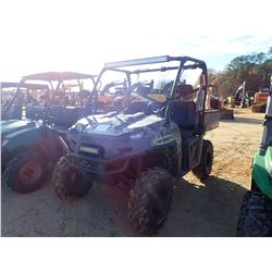 2011 POLARIS RANGER 800XP VIN/SN:4XATH76A0B2169299 - 4X4, GAS ENGINE, ROLL BAR, DUMP BODY, WINCH, ME