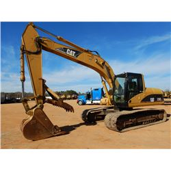 "2003 CAT 320CL HYDRAULIC EXCAVATOR, VIN/SN:PAB01067 - 9'-6"" STICK, 42"" BUCKET, THUMB, CAB, A/C"