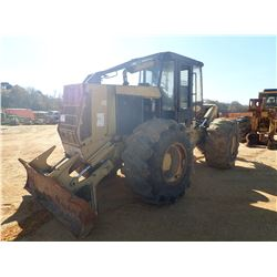 CTR 950 SKIDDER, VIN/SN:FK15412 - GRAPPLE, SINGLE ARCH, WINCH, CAB, 30.5L-32 TIRES (DOES NOT OPERATE