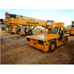 BRODERSON IC-80-36 CARRY DECK CRANE, VIN/SN:559170 - 3 SECTION BOOM, 40' HEIGHT, 18,000LB CAPACITY,