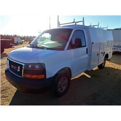 2007 GMC SERVICE TRUCK, VIN/SN:1GDHG31UX71117571 -GAS ENGINE, A/T, KNAPHEIDE COVERED SERVICE BODY, O