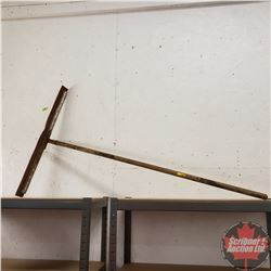 CHOICE OF 8: Long Handled Tools (Squeegee)