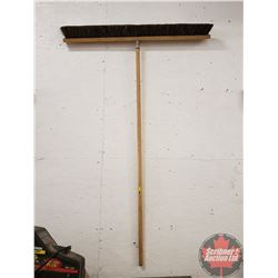 CHOICE OF 8: Long Handled Tools (3 Foot Push Broom)