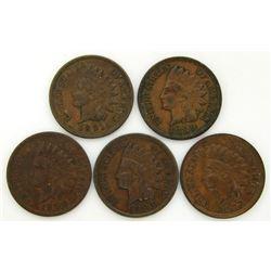 1889, 1891, 1900, 1903, 1907