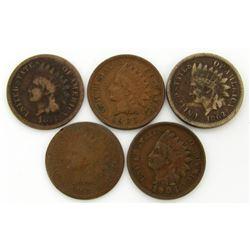 1862, 1863, 1876, 1904, 1905