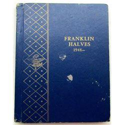 FRANKLIN HALF DOLLAR SET 1948 thru 1963