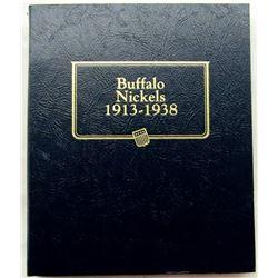 1913 - 1938D BUFFALO NICKEL NEAR COMPLETE