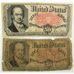 2-1875 50c FRACTIONAL CURRENCY