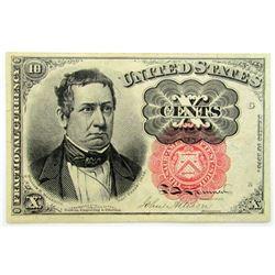 1874 TEN CENT FRACTIONAL NOTE