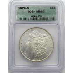 1879-O Morgan Silver Dollar ICG MS 62