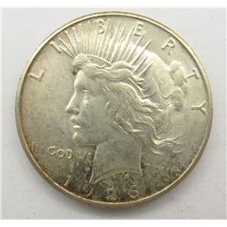 1926 S PEACE DOLLAR AU