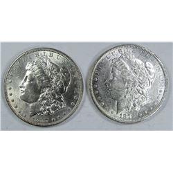 1879-O & 1887 MORGAN DOLLARS