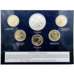 2012 UNITED STATES UNC DOLLAR COIN SET