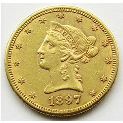 1897-S Ten Dollar $10 Liberty Eagle