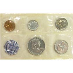 1962 US MIN PHILADELPHIA SET (5)COINS