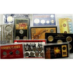 TRIBUTE SETS, OBSOLETE COINS, SILVER AND MORE!