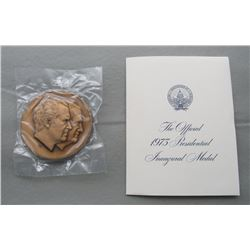 THE OFFICIAL 1973 PRESIDENTIAL INAUGURAL MEDAL