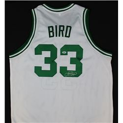 reputable site 6a511 512c1 Larry Bird Signed Celtics Jersey (PSA COA)