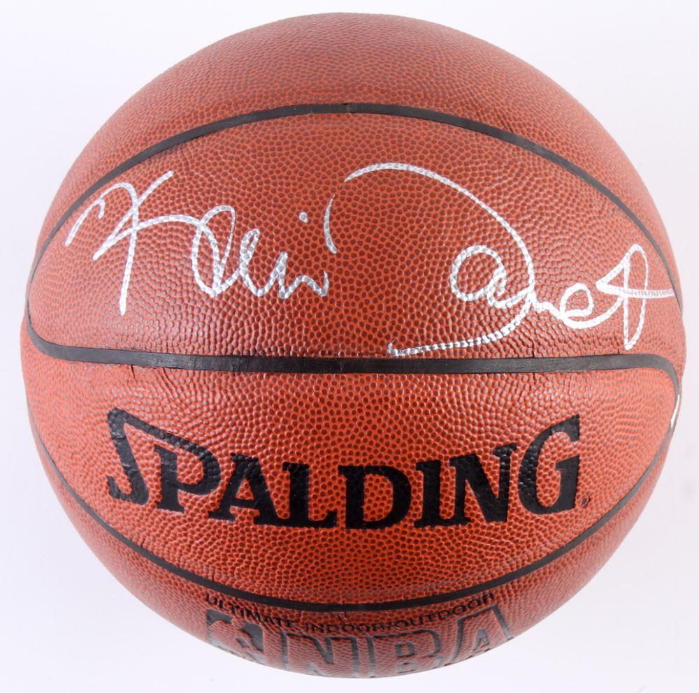 promo code c7738 0b363 Kevin Garnett Signed NBA Basketball (PSA COA)