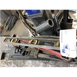 LOT OF ASSORTED BAR CLAMPS AND MORE