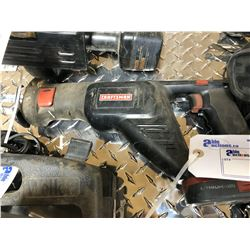 CRAFTSMAN CORDLESS RECIPROCATING SAW WITH CHARGER