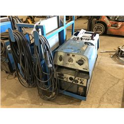 MOBILE WELDING UNIT INC. WOLFPAC 270 AC/DC WELDING POWER SOURCE WITH ATTACHED CABLING, FRAME AND