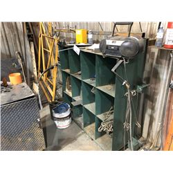METAL CONTENTS IN AREA INC. PARTS BIN, CARTS, SCRAPS AND MORE