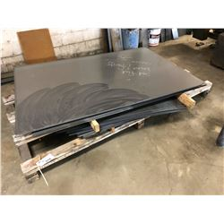 PALLET OF ASSORTED HEAVY DUTY SHEET METAL