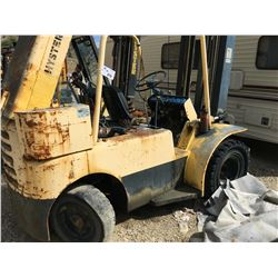 HYSTER H80C FORKLIFT, PARTS ONLY, NOT RUNNING