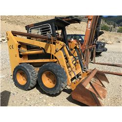 SHANDONG JULING MODEL JC80 SKID STEER LOADER, PARTS ONLY, NOT RUNNING