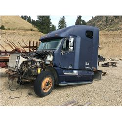FREIGHTLINER COLUMBIA SEMI TRUCK, PARTS ONLY, MISSING PARTS *PARTS ONLY,  NO REGISTRATION, MUST TOW*