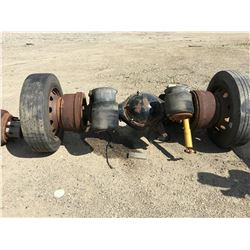 2 SEMI AXLES, PARTS ONLY