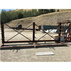 APPROX. 16' HEAVY DUTY STEEL RACK