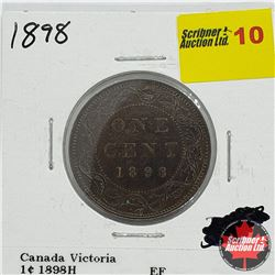Canada Large Cent 1898H