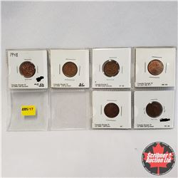 Canada One Cent - Strip of 6: