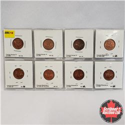 Canada One Cent - Strip of 8: