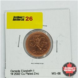 Canada One Cent 2002