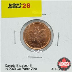 Canada One Cent 2009