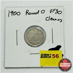 Canada Five Cent 1900 Lg Date