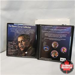 The Obama Change Collection (2008 First Commemorative Mint)