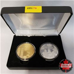 """Justice Coins from the Historical Coin Mint """"You Can Run but you Can't Hide"""" Commemorative Coin Set"""