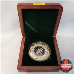 Medallion: President Barack Obama - Seal of the President of the United States (Colorized)