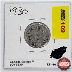 Canada Ten Cent 1930