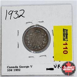Canada Ten Cent 1932