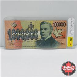 "Novelty Bill ""Canada Eh?"" 1,000,000"